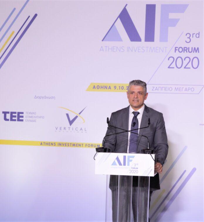 Ο κ. Γιάννης Μητρόπουλος , Γενικός Διευθυντής του Φυσικού Αερίου Ελληνική Εταιρεία Ενέργειας