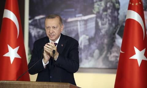 Ερντογάν μηνύματα αποδοκιμασίας Δύση
