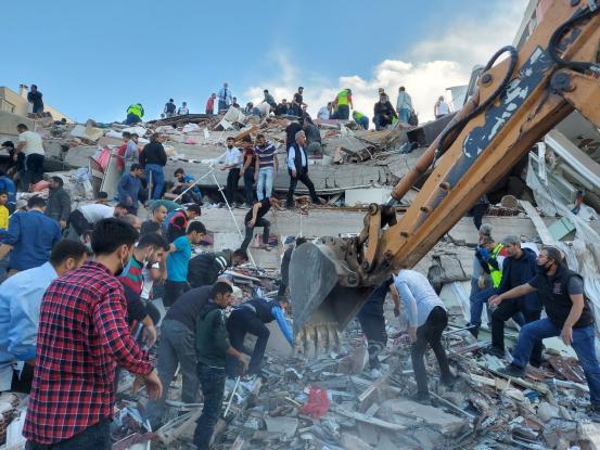 Διπλωματία σεισμών