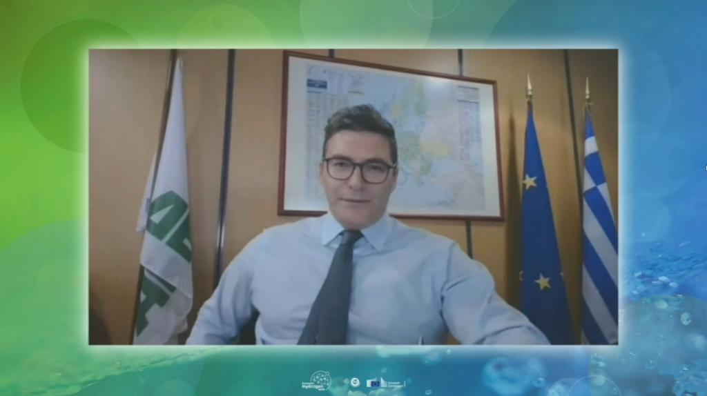 O Διευθύνων Σύμβουλος της ΔΕΠΑ Εμπορίας, Κ.Ξιφαράς.