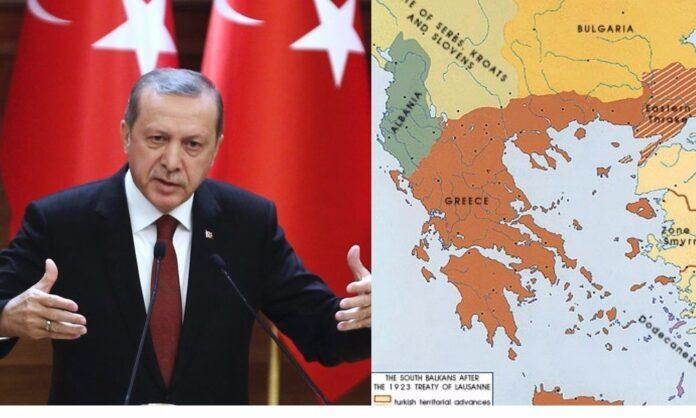 Ερντογάν Συνθήκη Λωζάνης