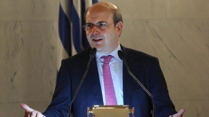 Ο Κ. Χατζηδάκης στο συνέδριο του Economist
