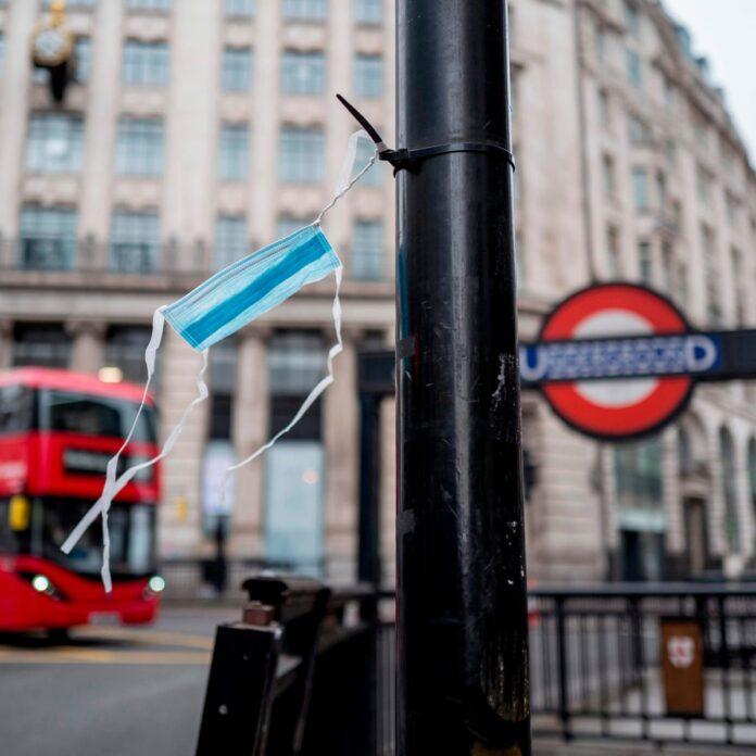 Λονδίνο πανδημία