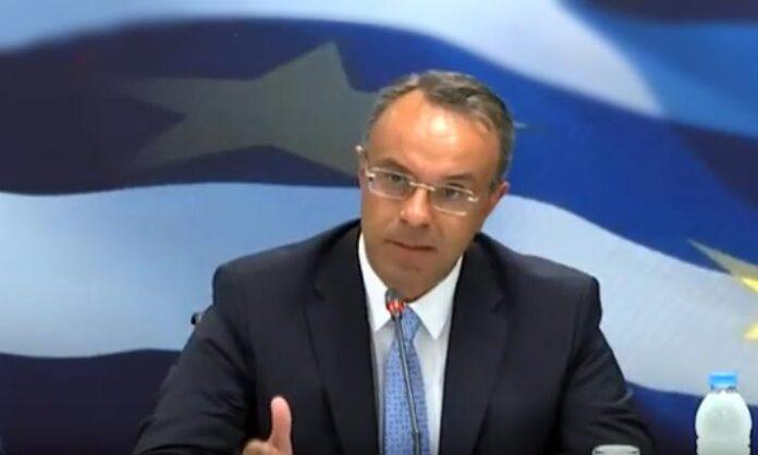 Χρήστος Σταϊκούρας: «αυτό που πάμε να κάνουμε είναι αντίστοιχο πρόγραμμα για μικρομεσαίες επιχειρήσεις που πλήττονται από την υγειονομική κρίση.»