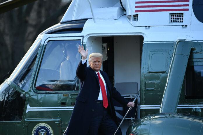 Τραμπ έφυγε