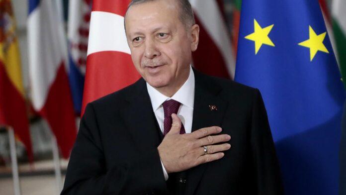 Ερντογάν Financial Times
