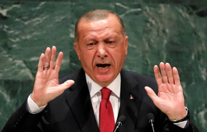 Κρεσέντο επιθετικότητας από τον Ερντογάν