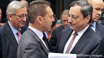 Σε παλαιότερη συναντηση του Γιούρογκρουπ στις Βρυξέλλες, με τον τότε υπουργό Οικονομικών Γιάννη Στουρνάρα