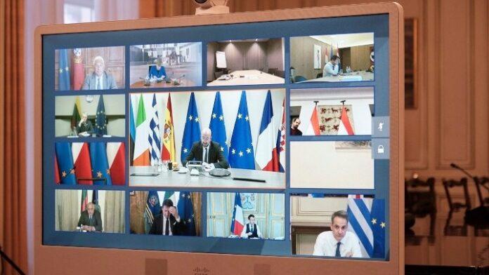 Σχέδιο έκδοσης πιστοποιητικών εμβολιασμού συζητούν οι ηγέτες της ΕΕ