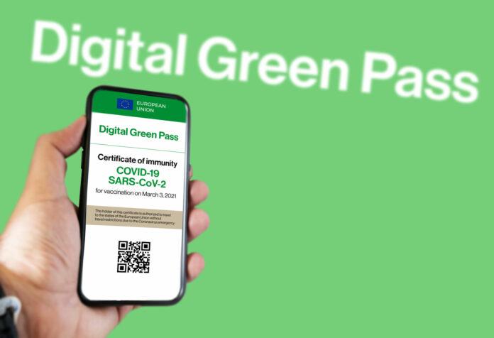ψηφιακό πράσινο πιστοποιητικό