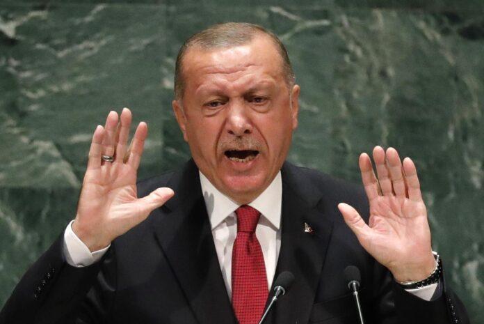 Ερντογάν πρόκληση