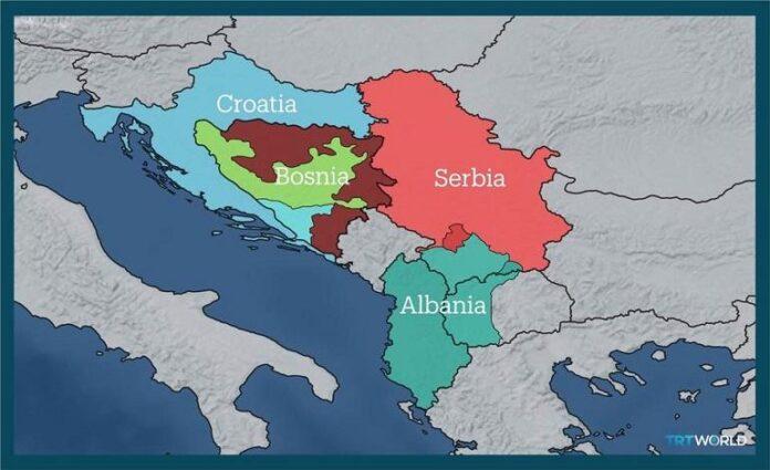 Βαλκάνια σύνορα