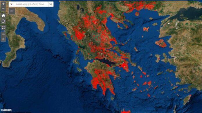 Ψηφιακός χάρτης