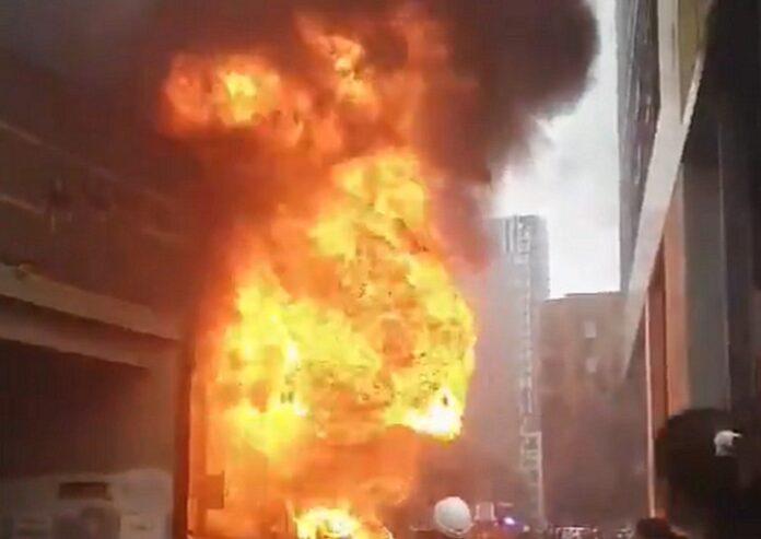 Εκρηξη Λονδίνο