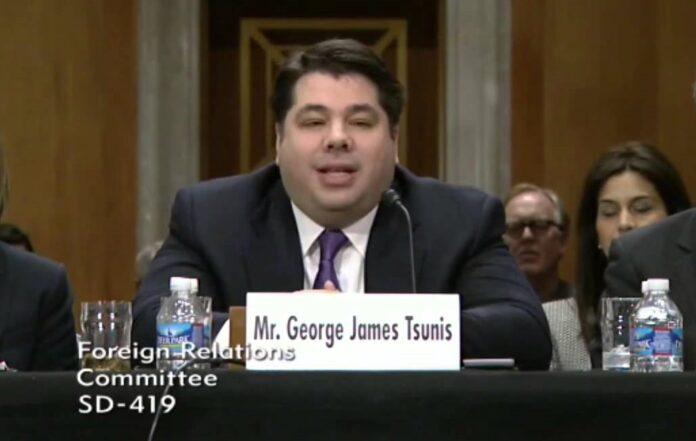 Ο Γιώργος Τσούνης φαβορί για τη θέση του Αμερικανού πρέσβη στην Αθήνα