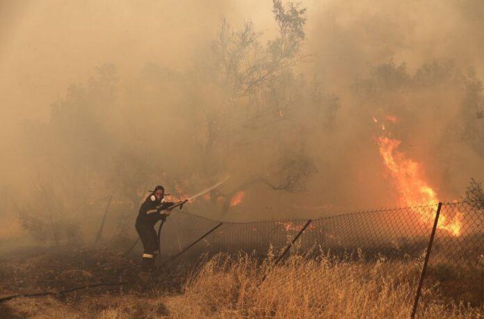 Ελλάδα φλόγες
