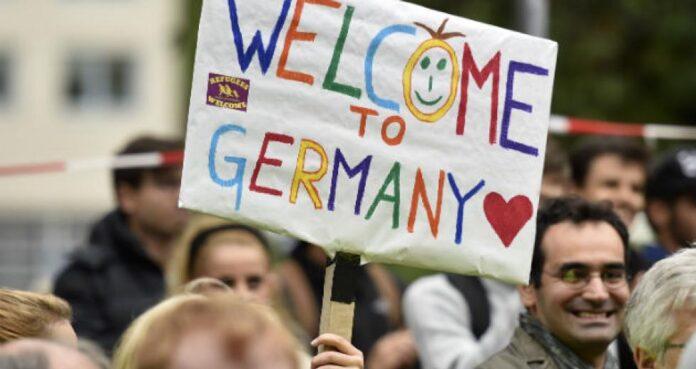 Γερμανία μετανάστες